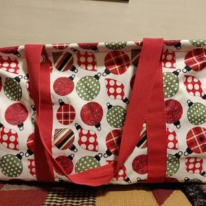 thirty-one Bags - Thirty One Holiday Large Utility Tote